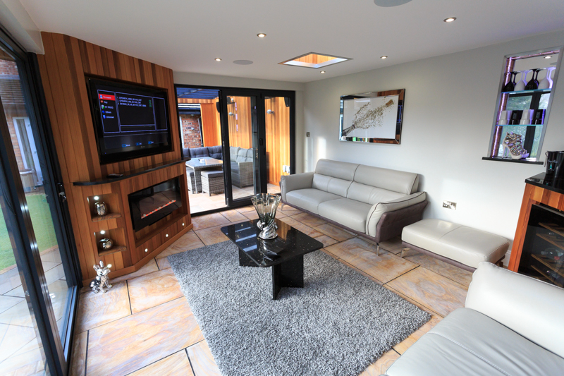 interior of outdoor living in stockport