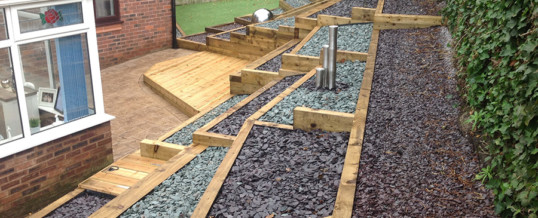 Garden Pride has just completed a decking project in Cheadle Hulme