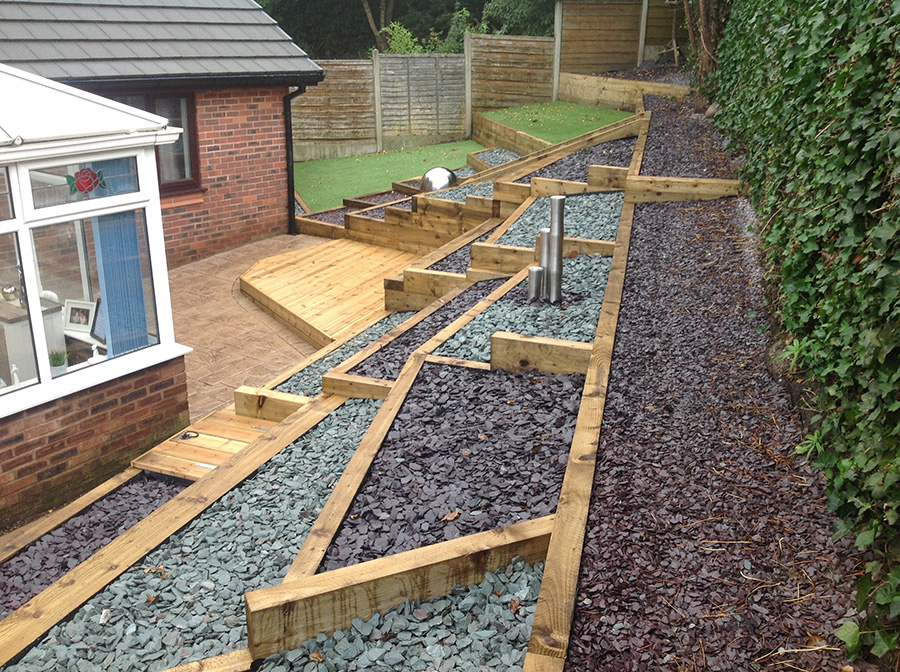 Wooden Decking in Stockport